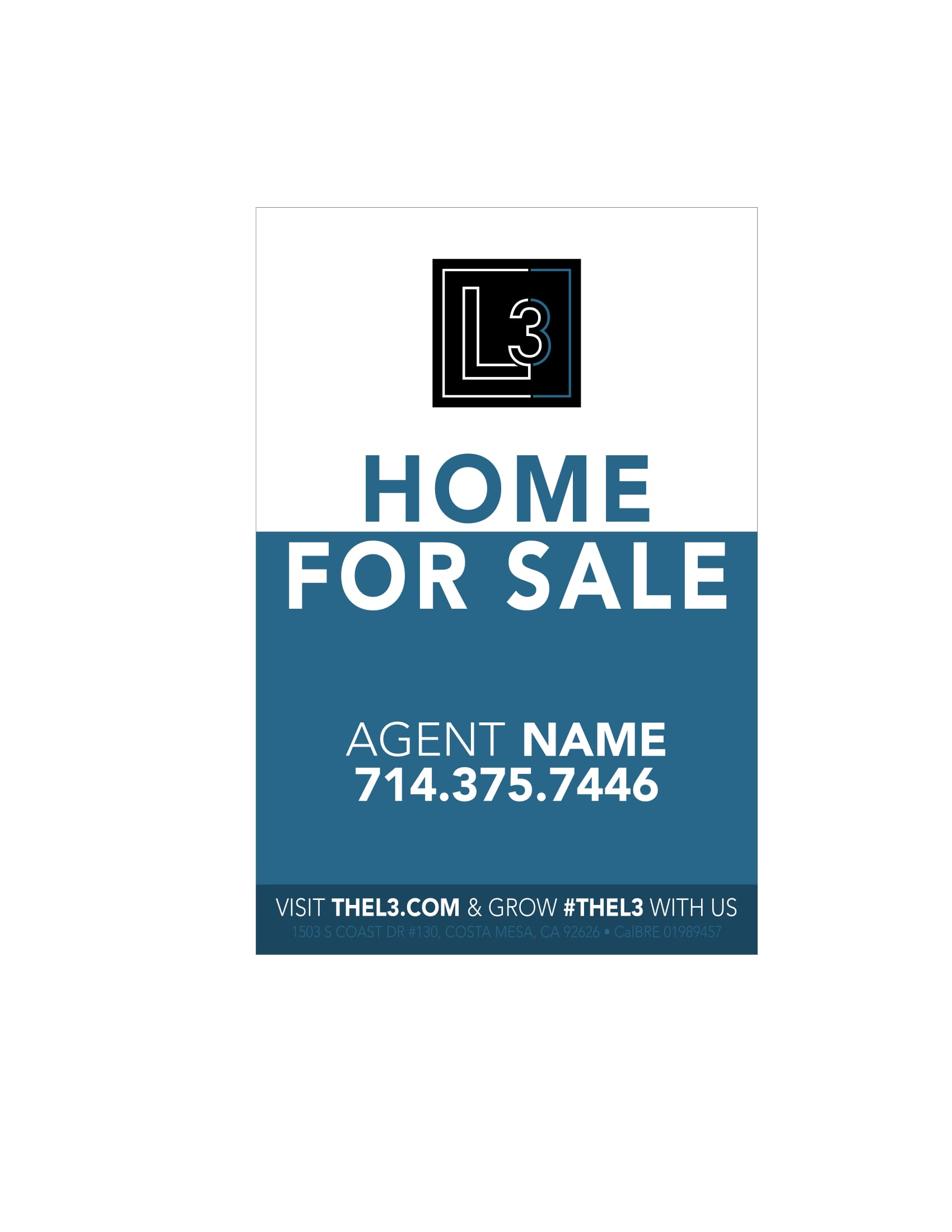 L3 For Sale Signs