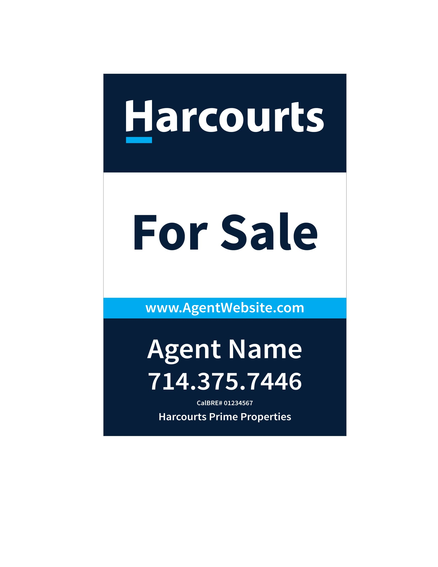 Harcourts For Sale signs