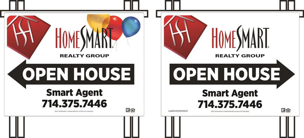 HomeSmart Realty Group PVC Open House A-frame