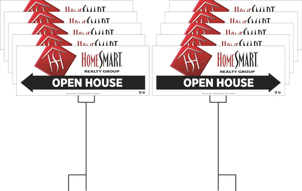 HomeSmart Realty Group Open House or Garage Sale Pack 1