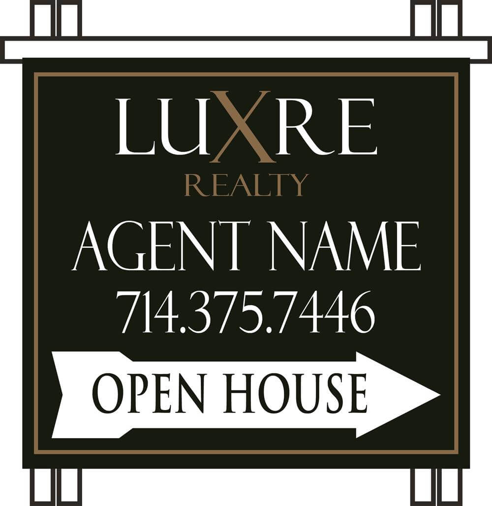 Luxre Realty : Luxre PVC Open House A-frame