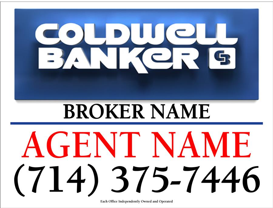 Coldwell Banker for sale signs