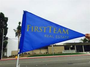 flag-w-custom-text---first-team-blue
